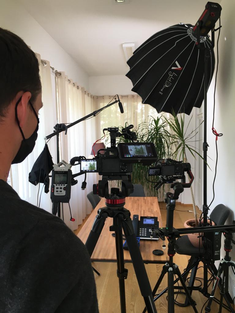 filming Mark Kelly